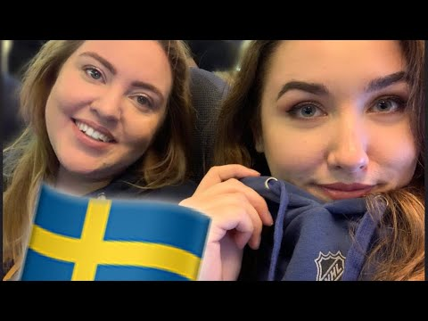 We did a little vlog of our trip to the Global series in Sweden, first NHL game and kinda neutrals but got into the spirit. Hope you enjoy!