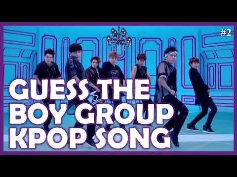 Guess the Kpop Song BOY GROUP EDITION #2