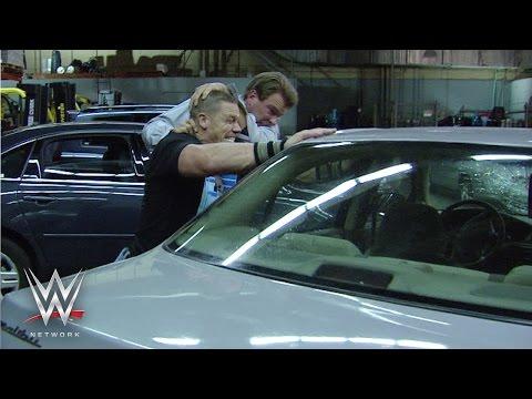 WWE Network: John Cena and JBL's New York City Parking Lot Brawl – The Great American Bash 2008