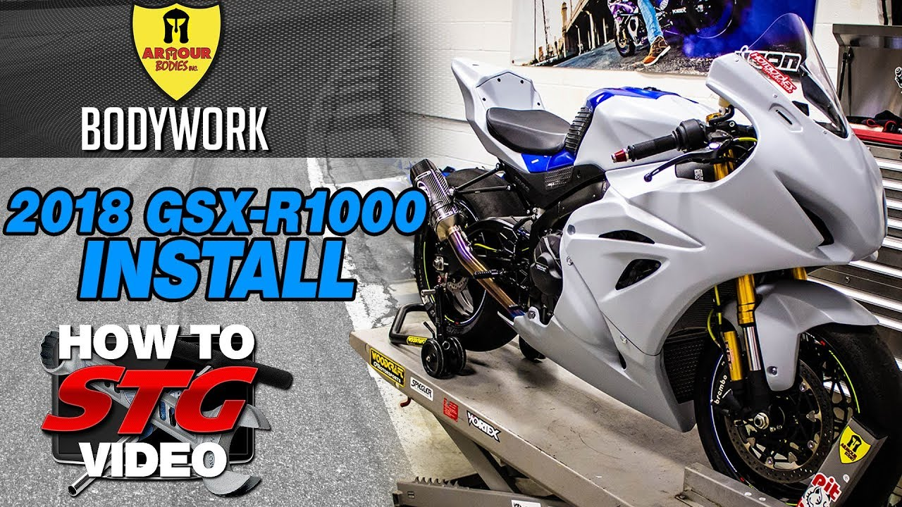 2018 Suzuki GSXR 1000 R STG How To Project Bike Build from
