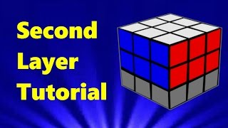 How to solve a Rubik's Cube (Second Layer Tutorial) | Part 3