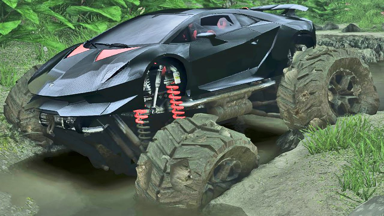 Lamborghini Off Road Spin Tires Youtube