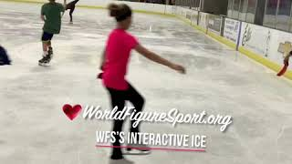 WFS's Interactive Ice for Figure & Hockey Skaters!