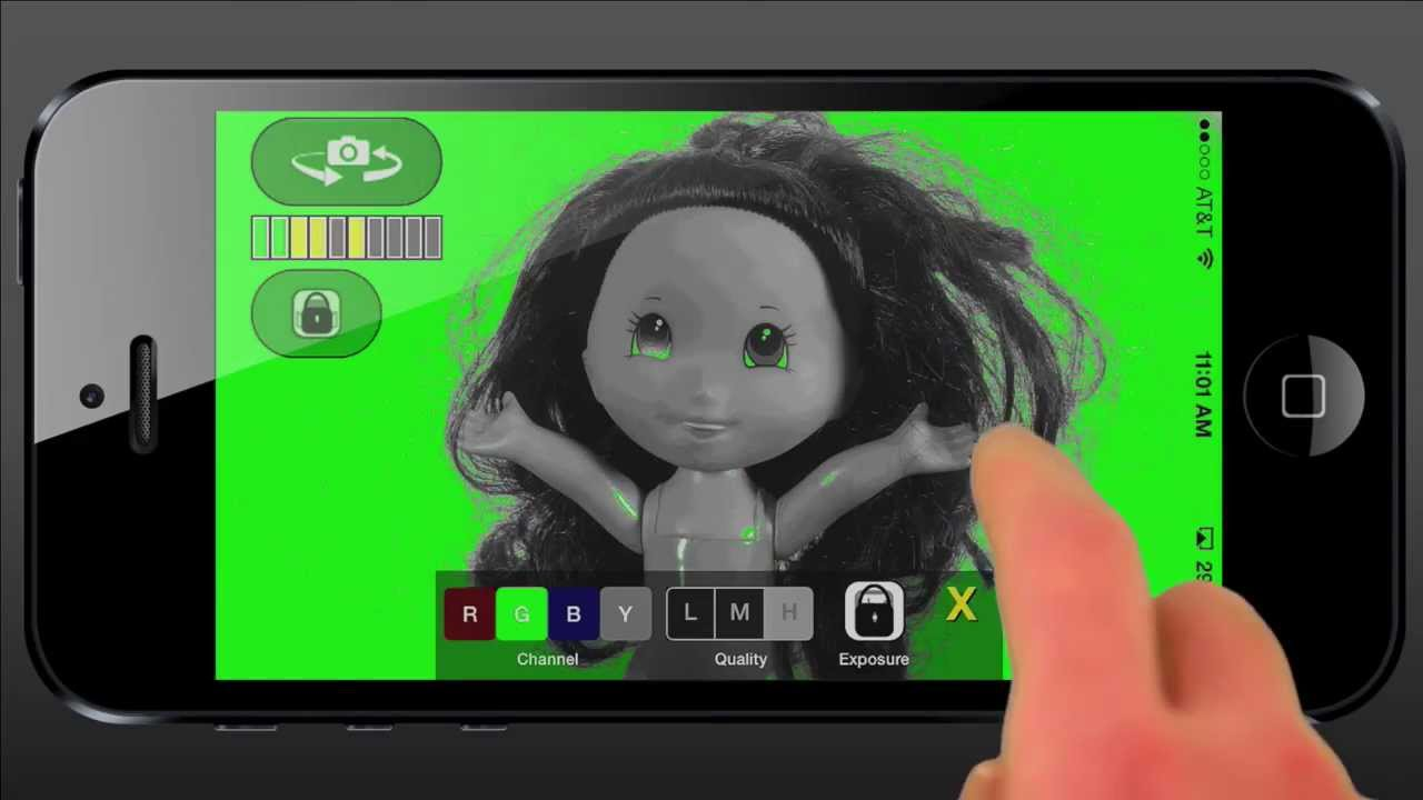 Light A Green Screen With This Free App For Iphone Ipad
