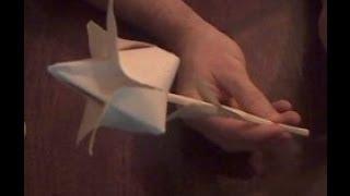 Цветок тюльпан из бумаги оригами  Tulip flower paper Origami