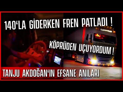 Tanju Akdoğan'ın efsane anıları / Fren patladı / Kazadan kılpayı kurtuluşu