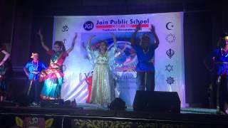 vasudaiva kutumbakam a theme show by jain public school secunderabad