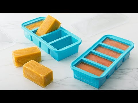Souper Cubes | Soup & Stock Silicone Freezer Tray