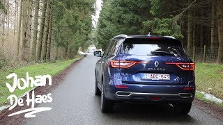 2018 Renault Koleos walkaround / exterior and interior / driving scenes