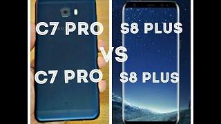 Samsung Galaxy S8 Plus VS Samsung Galaxy C7 Pro  Must Watch Speed Test and Performance Test