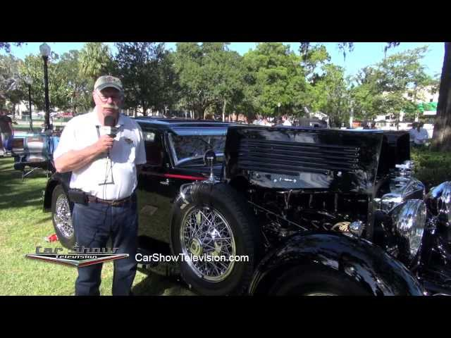 1929 Stutz Lancefield Supercharged Coupe - Car Show TV