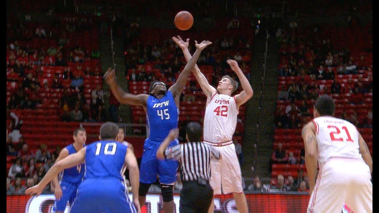 Recap: Utah men's basketball beats IPFW to move to 7-1 ...