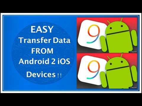 Urdu - Hindi How to Transfer Data from Android to iOS Devices