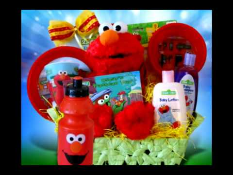 Elmo Gift Basket Perfect Birthday For Kids GiftBasket4Kids