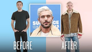 Zac Efron's Bleached Hair Recreated by Professional Stylists | GQ
