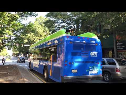 Various GRTC Buses Throughout Downtown Richmond (Richmond, VA)