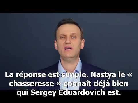 corruption  pots-de-vin etc un film-enquête de l'opposant russe Navalny