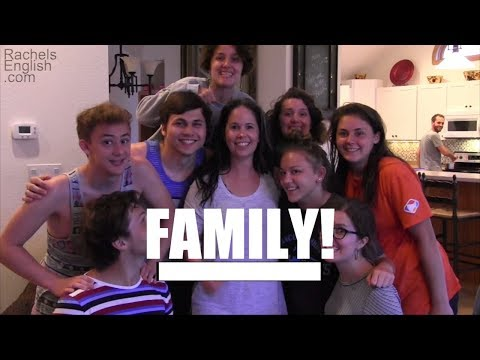 ENGLISH VOCABULARY - Family Vocabulary!  This Vocabulary Builder teaches you all about family