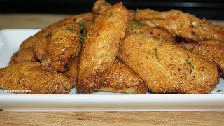 Easy Lemon pepper Chicken Wings Recipe| better than Wingstop Must Try!
