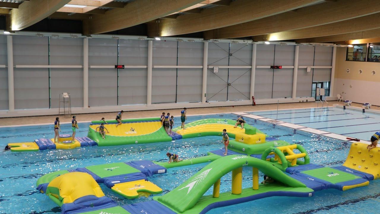 Bangor aurora 39 s aqua challenge highlights youtube - Bangor swimming pool northern ireland ...