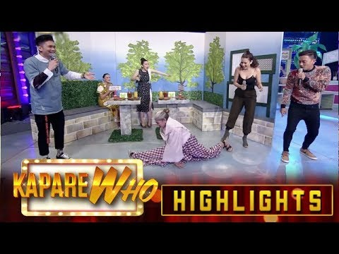 Ion translates Spinning Me Softly's question in English| It's Showtime KapareWHO from YouTube · Duration:  3 minutes 57 seconds