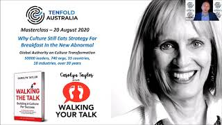 Tenfold Masterclass with Carolyn Taylor - 20 August 2020