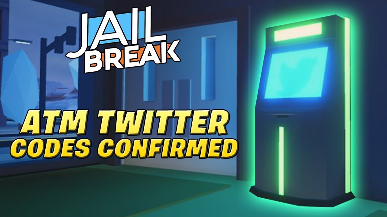 Roblox Atm Codes For Jailbreak 2019