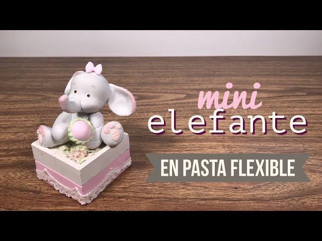 MINI ELEFANTE EN PASTA FLEXIBLE