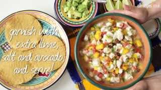 How To Make Ceviche Video Recipe