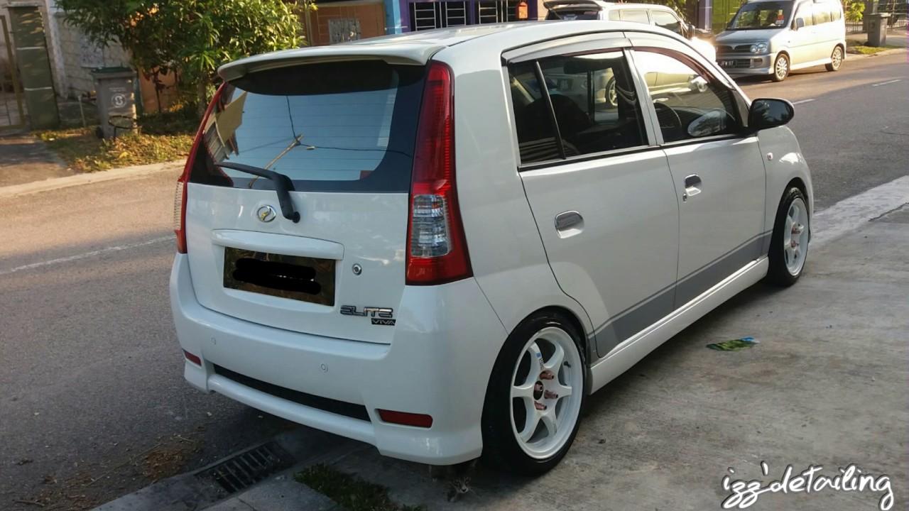 Perodua Viva Elite - Polish & Wax - Polish Kereta Pasir