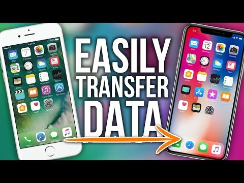How To Transfer All Data To A New IPhone (2018) Easy Data Transfer!