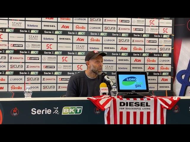 CALCIO - Conferenza stampa Stefano Rosso