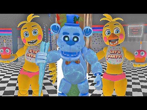 Animatronics Secretos Frostbear E Toy Chica No Roblox Circus - 5 animatronics secretos escondidos no roblox circus baby s pizza