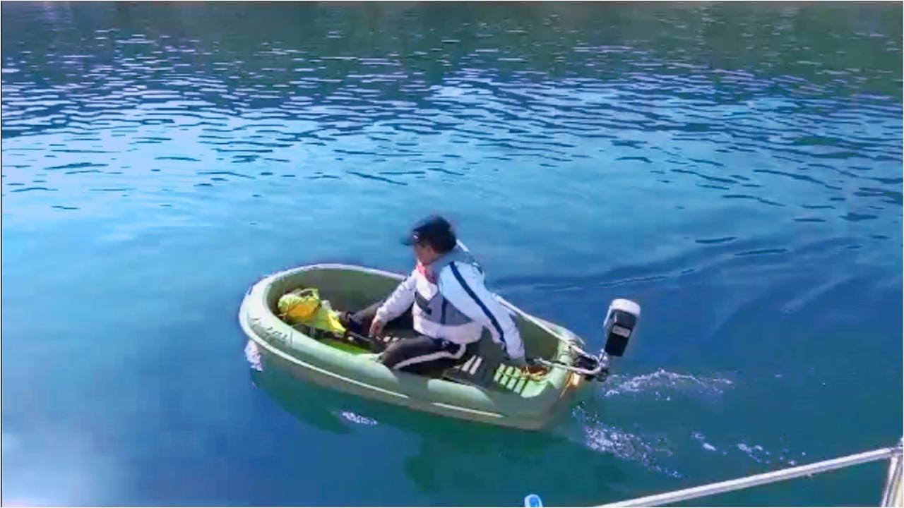 リチウム バッテリー 充電式 電動 船外機 試作 テストoutboard Motor Charging Li