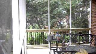 Cox Brand Pressure-treated Custom Wood Deck With Deckorator Pickets Video In Charlotte