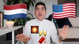 American vs Dutch Culture: New Years