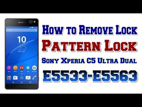 How To Remove Lock In Sony Xperia C5 Ultra Dual E5533,E5563 | Remove Pattern Lock