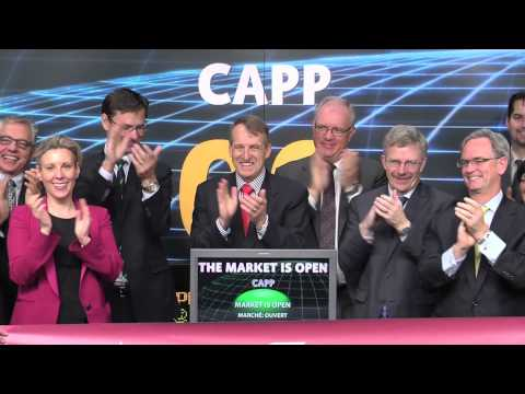 Canadian Association of Petroleum Producers (CAPP) opens Toronto Stock Exchange,  April 3, 2014.