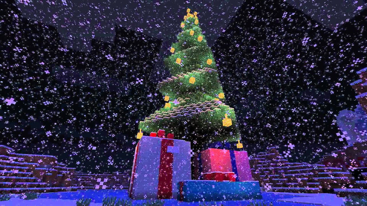 Minecraft Christmas Tree Schematic Download