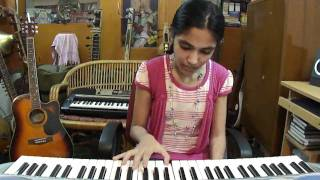 "Keyboard Hindi super song ;""Chura liya hai"" film; yaadon ki Baarat, by Kriti Reddy,"