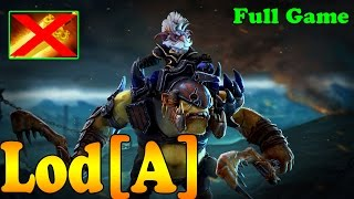 Dota 2 - Lod[A] Plays Alchemist - Full Game - Ranked Match Gameplay!