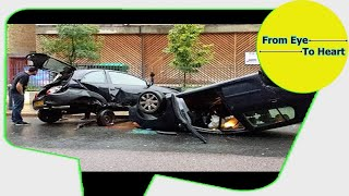 Car Crash) very Shock dash camera 2017 NEW By Top Speed Motor HD (1325) HD