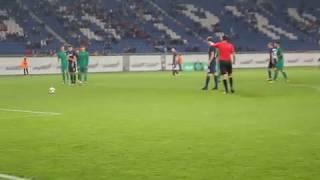 СК Днепр-1 - Прикарпатье: Кулиш забивает пенальти