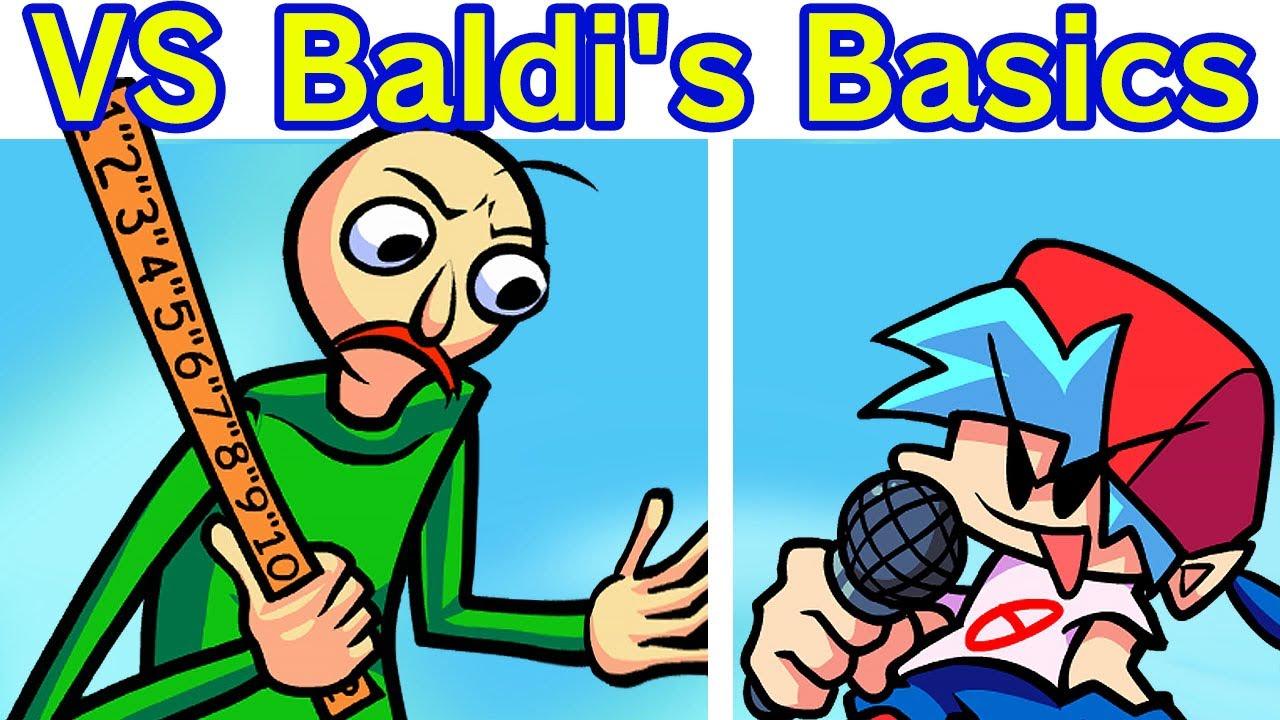 Friday Night Funkin' VS Baldi's Basics  Funkin Semana Completa