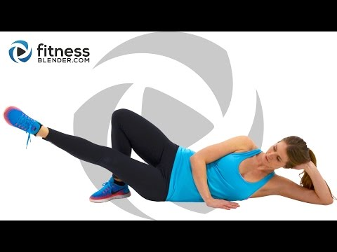 No Equipment 10 Minute Butt And Thigh Workout At Home