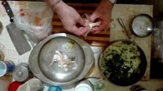 Салат и масло из соленой рыбы Пальчики оближешь