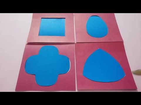Insets for design shapes by montessori diploma guide