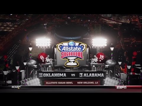2014 Sugar Bowl - OU vs Alabama