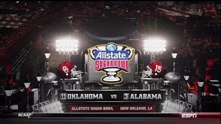 2014 Sugar Bowl - OU vs Alabama