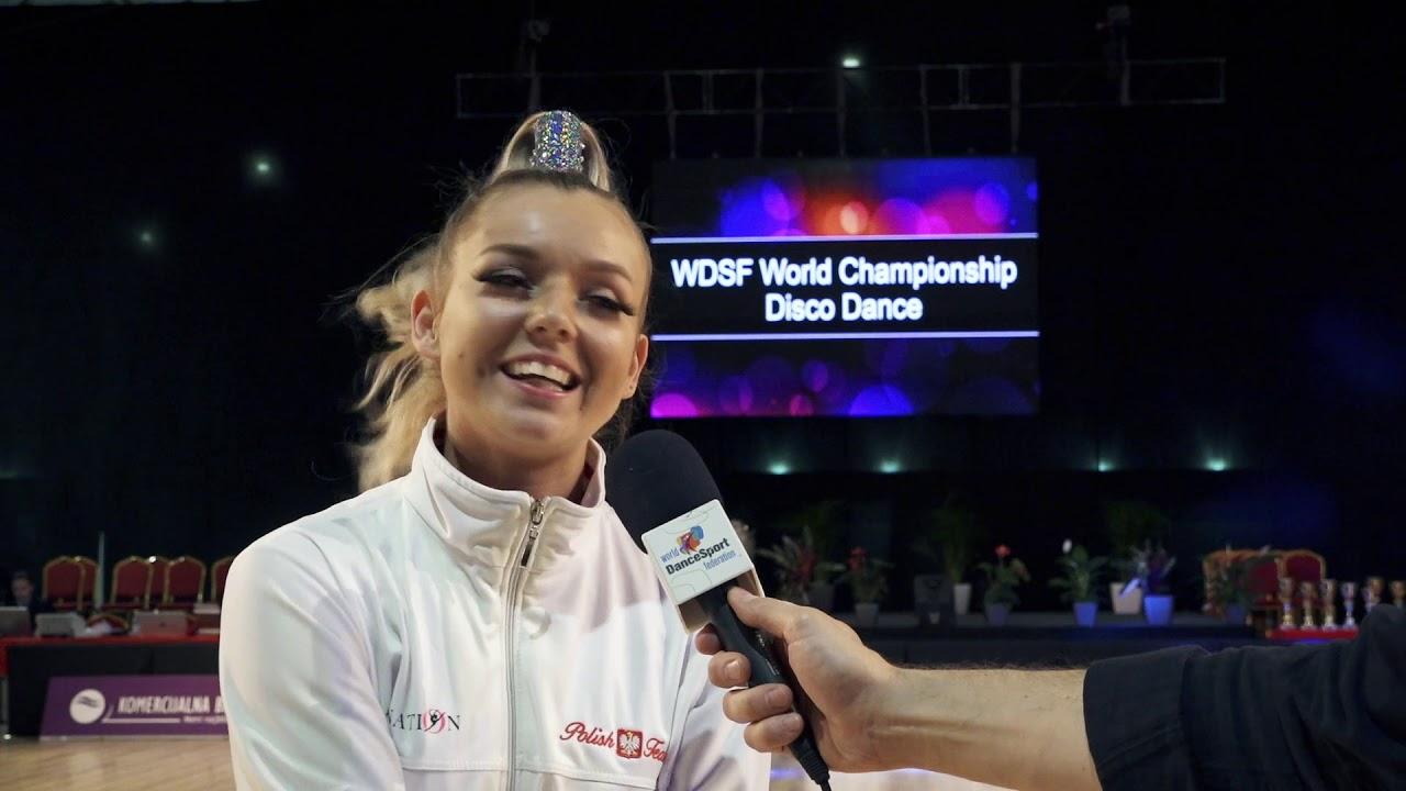 Wiktoria Interviewedd |2019 World Championship Disco Dance
